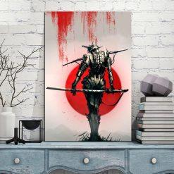 Tableau femme samouraï