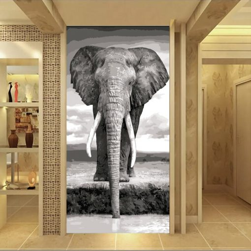 grand tableau elephant