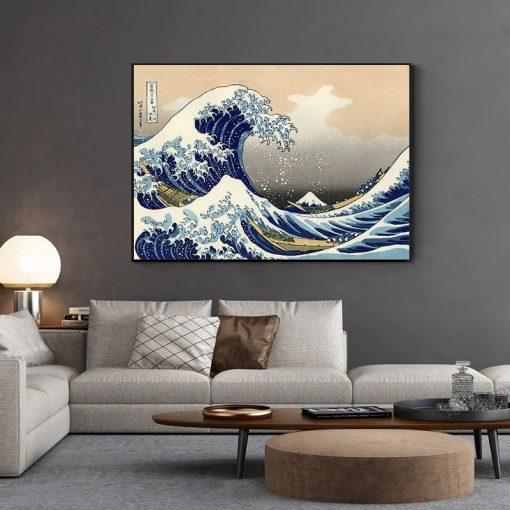 la vague tableau japonais_3
