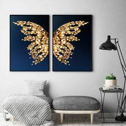 tableau aile de papillon
