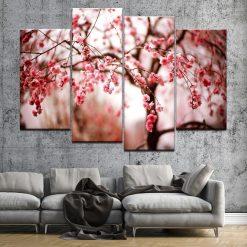 tableau arbre cerisier japonais