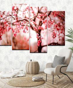 tableau cerisier japonais arbre