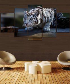 tableau chasse au tigre