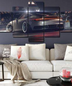 tableau de porsche 911 GT