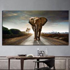 tableau elephant grand format_3