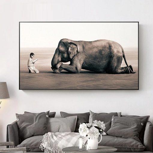 tableau elephant sacré