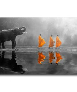 tableau elephant thailande