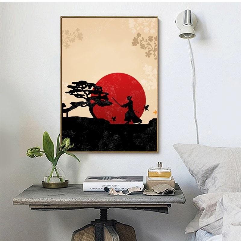 tableau esprit japonais