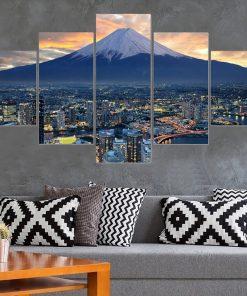 tableau japonais du mont fuji