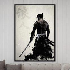tableau samourai