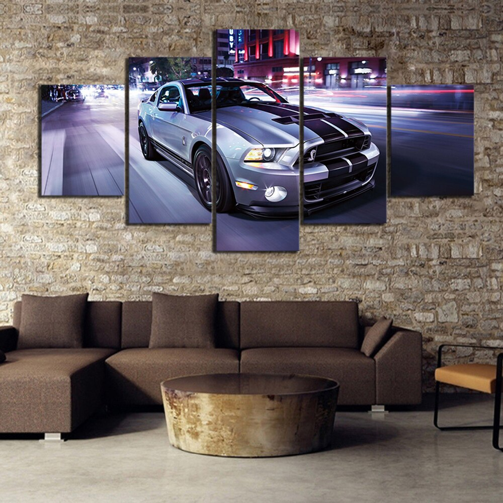 déco mural ford mustang