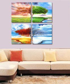 tableau arbre 4 saisons