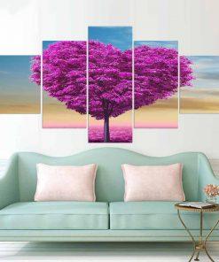 tableau arbre amour