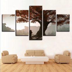tableau arbre automne