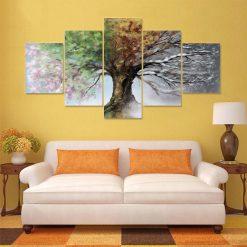 tableau arbre quatre saisons