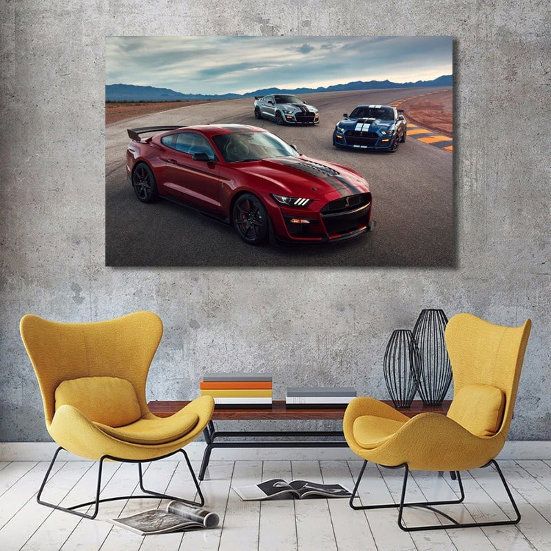 tableau deco ford mustang