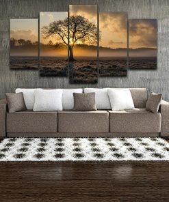 tableau moderne avec arbre