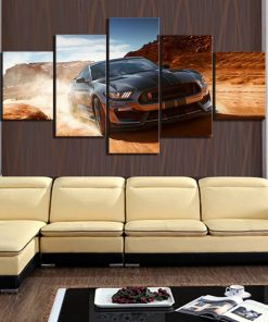 tableau toile ford mustang
