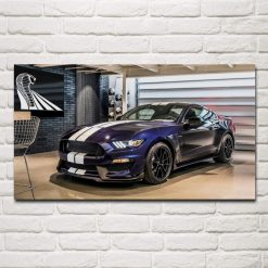 tableau voiture mustang